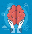 design thinking creative ideas concept vector image