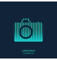 Abstract Creative concept icon of photo vector image vector image