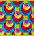 bright abstract psychedelic background seamless vector image vector image