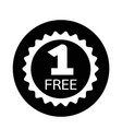 buy one get one free icon vector image