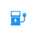 charging station for electric cars icon vector image vector image