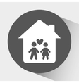 home icon design vector image vector image