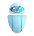 modern chatbot icon cartoon style vector image vector image