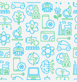 technologies seamless pattern vector image vector image