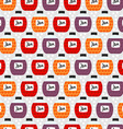 Seamless Pattern with Jam Jars Background Texture vector image