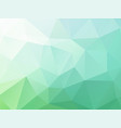 abstract blue green background vector image vector image
