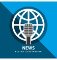 breaking news vector image vector image