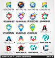 collection of dentist and medical clinic logo vector image