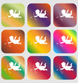 Cupid sign icon vector image vector image