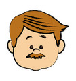 Man people icon avatar adult person face viewed