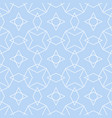 tile pattern or blue and white wallpaper vector image vector image