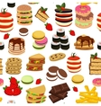 Meal Tower Seamless Pattern
