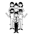 people teachers day vector image vector image