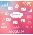 Business Infographics Chart vector image