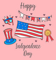 card independence day vector image vector image