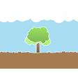 Deforestation vector image