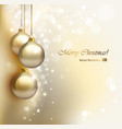 glimmered evening balls vector image vector image