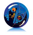 Halloween Ball vector image vector image