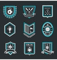 Sport emblems vector image vector image