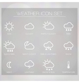 Weather Widget copy vector image