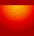 abstract low poly red background vector image