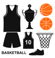 Basketball vector image