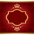 Elegant card with golden decor vector | Price: 1 Credit (USD $1)