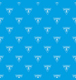 gear machinery pattern seamless blue vector image