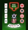 poker6 vector image