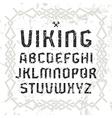 Sanserif font in historical style