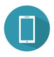 smartphone icon mobile icon vector image vector image