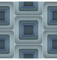 3D Squares Seamless Pattern vector image vector image
