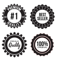 Collection of Premium Quality Best Seller vector image vector image