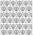 dia de los muartes holiday skulls pattern vector image vector image
