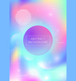 fluid shapes background with liquid dynamic vector image