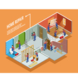 Home Repair Isometric Template