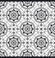 spanish lace seamless pattern vector image