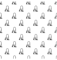 Vacuum cleaner pattern simple style vector image vector image
