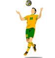 al 0543 soccer 01 vector image vector image