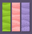 banners for spring season vector image vector image