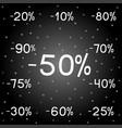 black friday new year holidays sales vector image vector image