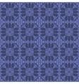 Blue Ornamental Seamless Line Pattern vector image vector image