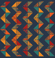 boho seamless pattern vector image vector image