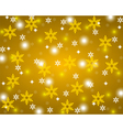 Christmas gold shiny background vector image vector image