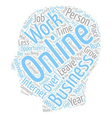 Online Opportunity To Attain Financial Freedom vector image vector image