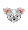 Origami koala bear vector image vector image