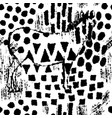 zebra camouflage abstract seamless pattern vector image