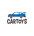 car toys logo icon vector image