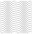decorative seamless outline pattern vector image vector image
