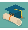 Education and elearning icons vector image vector image